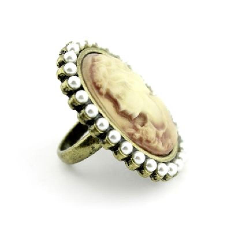 Кольцо Камея #9081