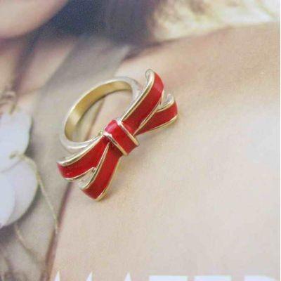 Кольцо Бантик #4774