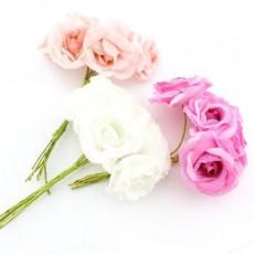 Связка из цветов 6шт #4714