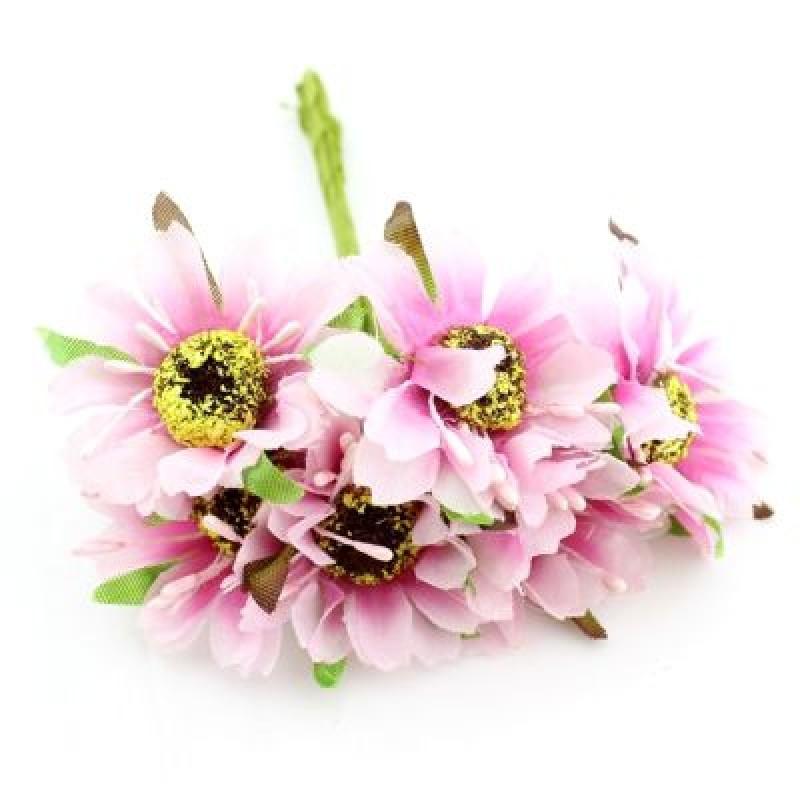 Связка из цветов 6шт #4717