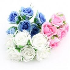 Связка из цветов 6шт #4719