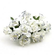Связка цветов с посыпкой 12шт #11053