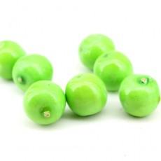 Яблоко зеленое 20мм #4606