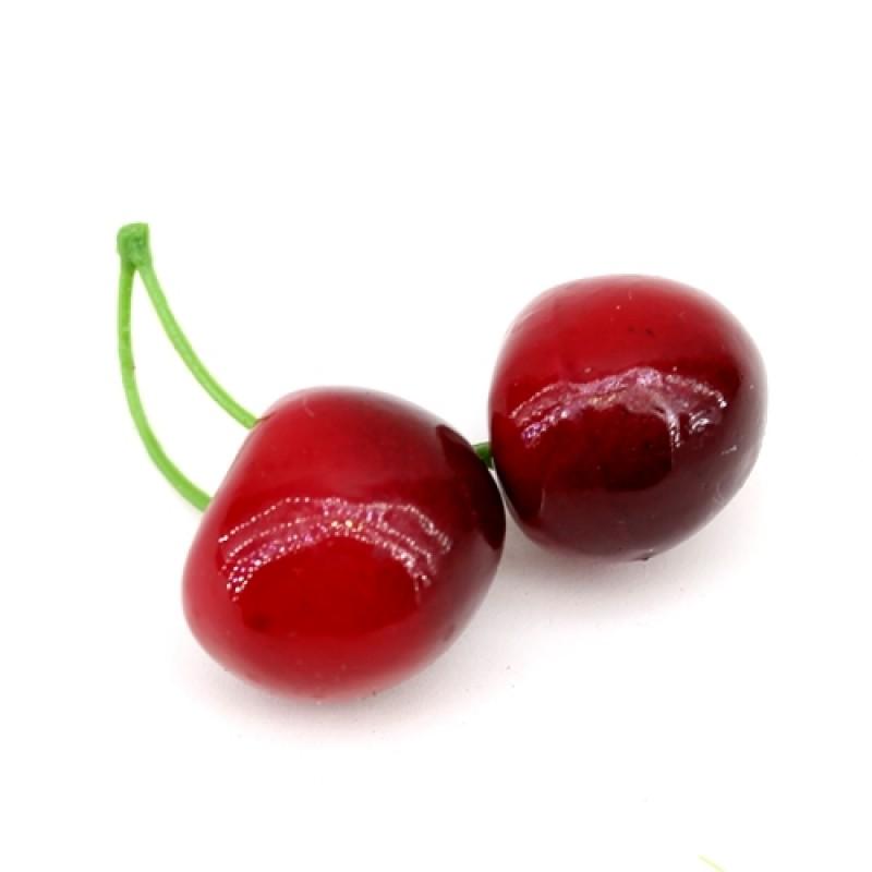Черешня красно-бордовая (двойная) #5937