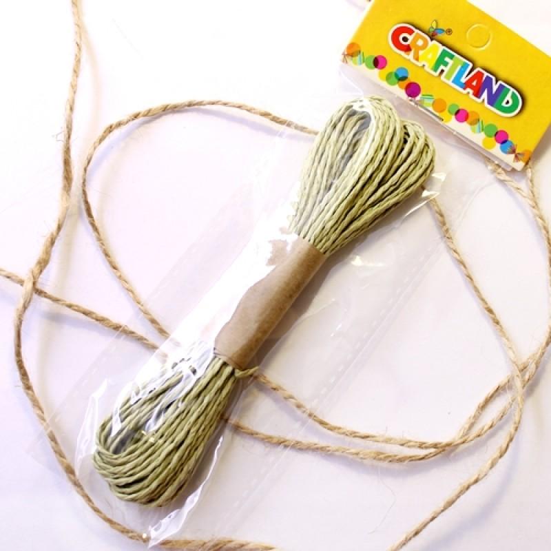 Верёвка декоротивная 10м Бум. #5102
