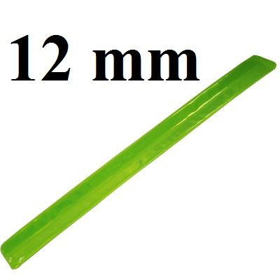 Лента светоотражающая 12мм, 1метр #5789