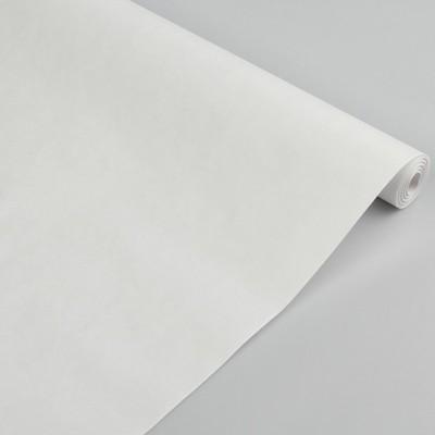 Бумага упаковочная крафт белый, 0,5 х 10 м #10698