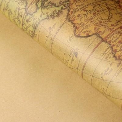 Бумага упаковочная крафт 60 х 60 см #10699