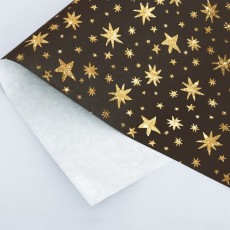 Бумага упаковочная крафтовая Star, 50 × 70 см #10766