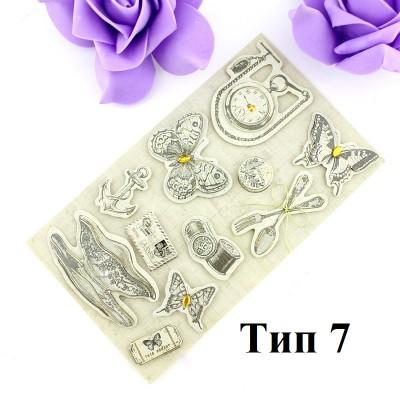 Декоративные 3D наклейки РЕТРО Тип7 #10330