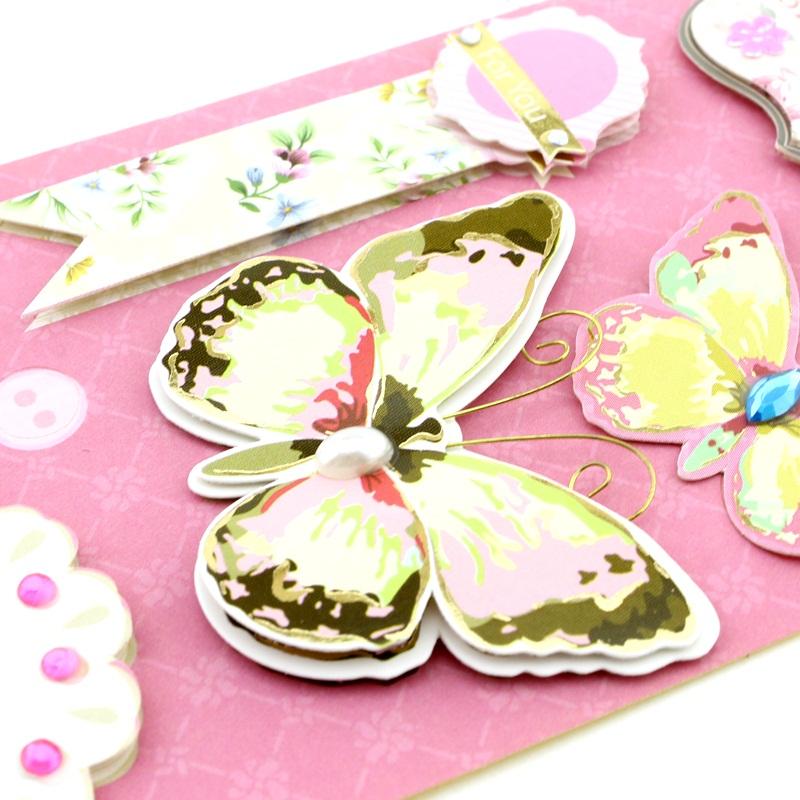Декоративные 3D наклейки Flowers Тип5 #10386