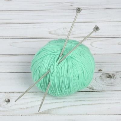 Спицы для вязания, прямые, d = 3 мм, 20 см, 2 шт #11220