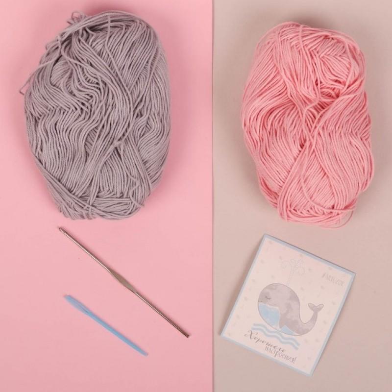 Набор для вязания «Сонная зайка Амелия», 10×4×14 см #10713