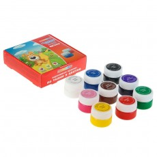 Набор акриловых красок для ткани «Цветик», 9 цветов #11217