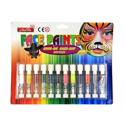 Грим-карандаши для лица и тела, 12 цветов #11307