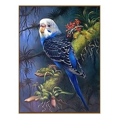 Волнистый попугайчик в тропиках, 23 цвета #11548