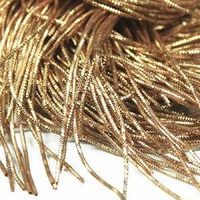 Канитель трунцал 0,7мм 5гр бронзовый #11276