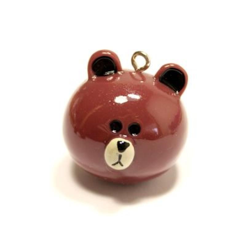 Подвеска голова медведя #5174