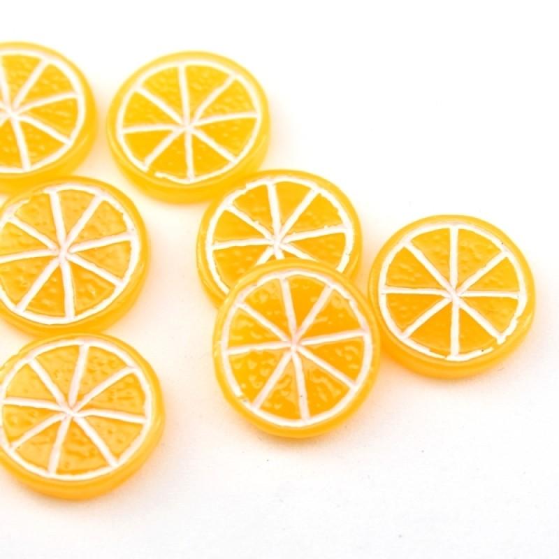 Кабошон Апельсинка D=16 #5391