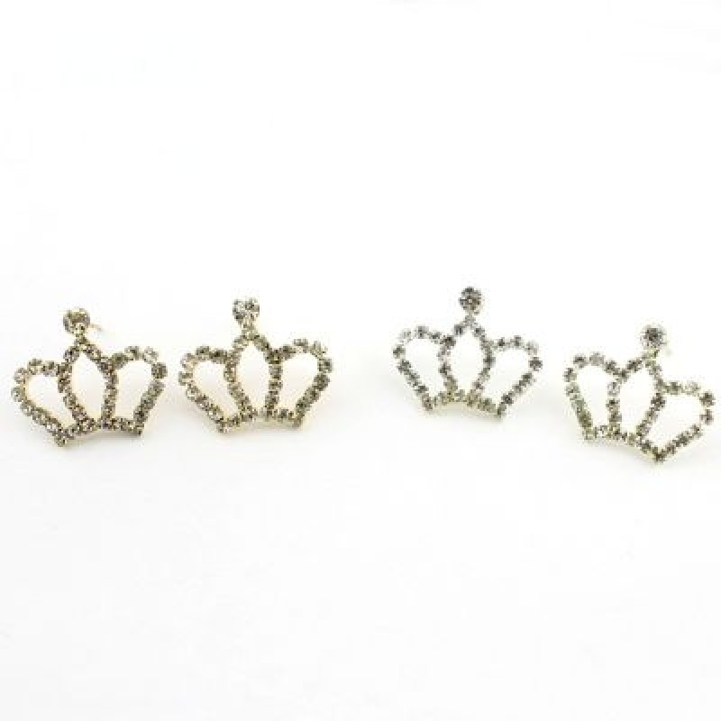 Серьги Корона #3534