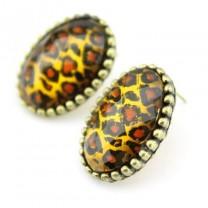 Леопардовые Серьги #2062