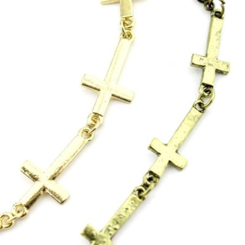 Браслет с крестами #2180