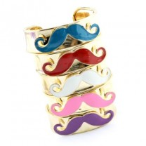 Широкий Браслет Moustache #7478