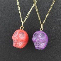 Кулон Яркий череп #5057