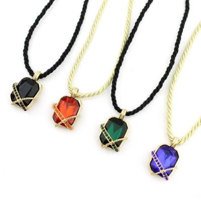 Яркий Кулон с камнем #6234