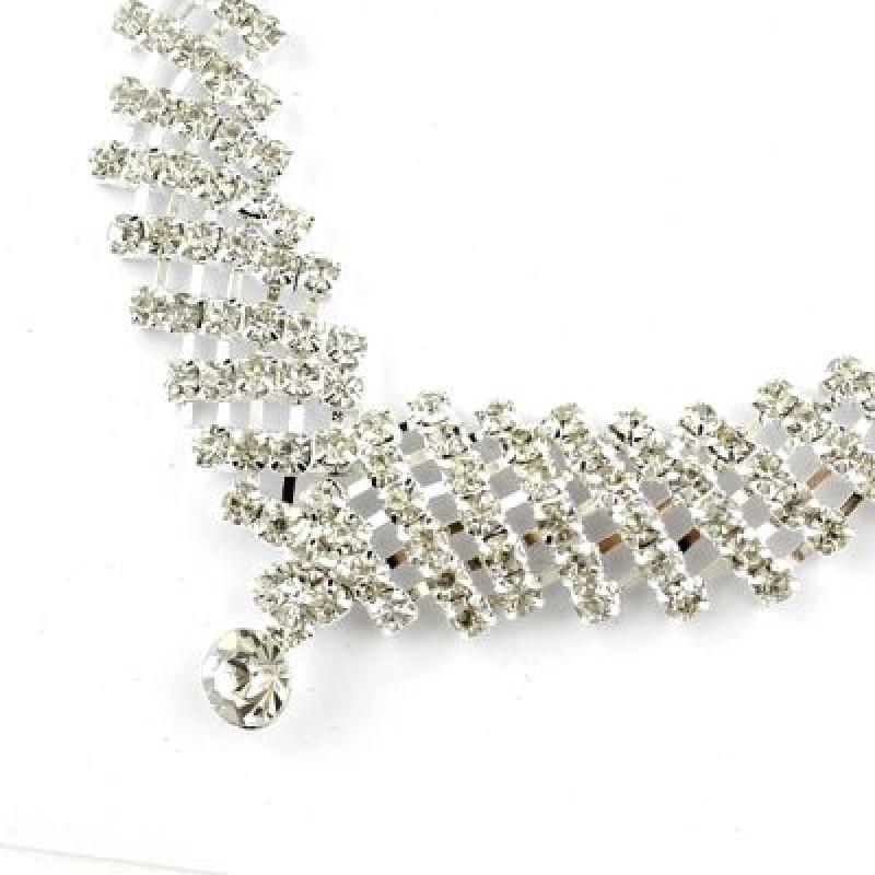 Энжела (колье, серьги, браслет, кольцо) #1681