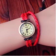 Часы с Плетеным Ремешком  #3826