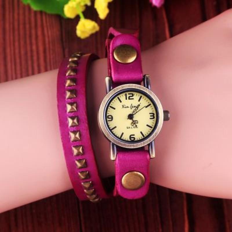 Часы на Ремне с Шипами #3857