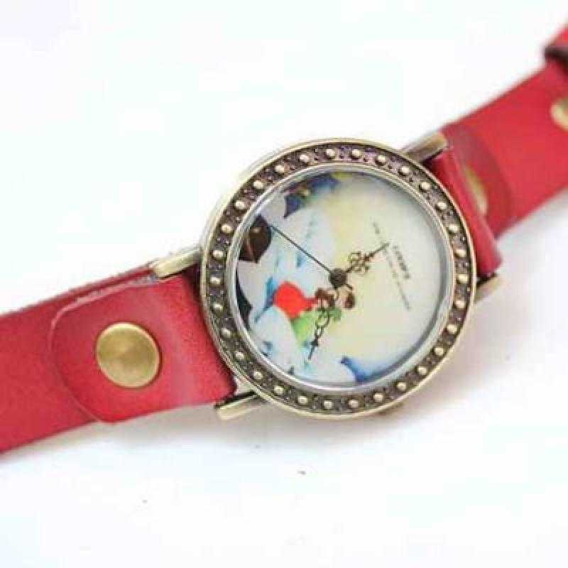 Часы с Цветочным Принтом #3858