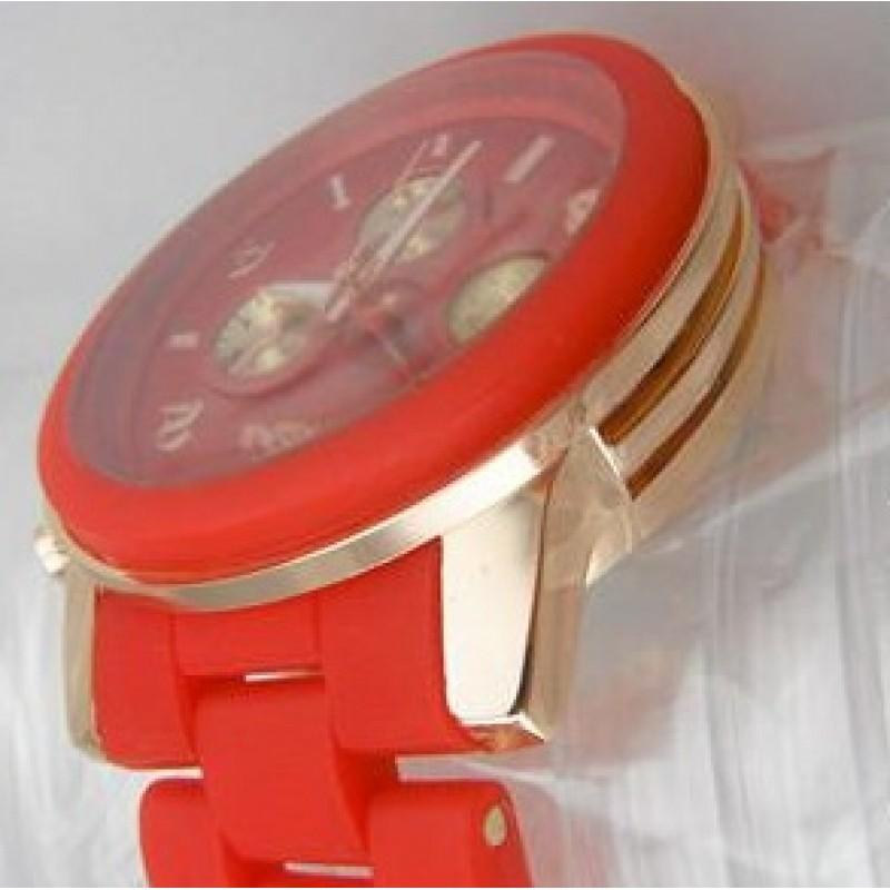 Часы Силикон и Металл #5450