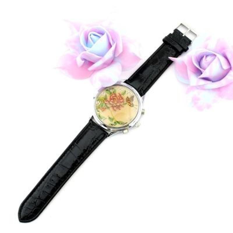 Часы с Цветочным Принтом #2374