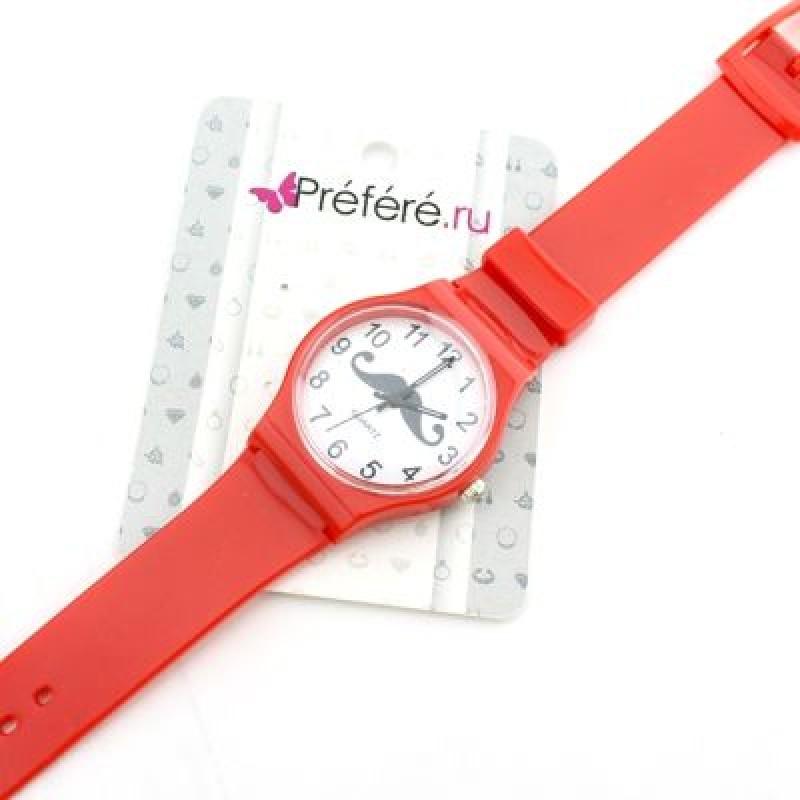 Силиконовые Часы Усы #5448