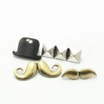 Брошь Мистер Усы #5041